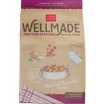 Cloud Star WellMade Dog Grain Free Dehydrated PRK VEG 3# 3#