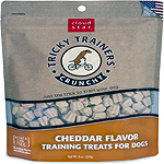Cloud Star Crunchy Tricky Trainers Cheddar Flavor Dog Treats, 8-oz. bag