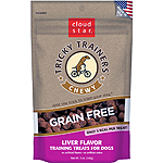 CLOUDSTAR DOG TRICKY TRAINER GRAIN FREE CHEWY LIVER 5OZ