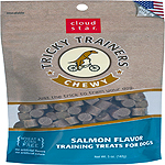 Cloud Star Chewy Tricky Trainers Salmon Flavor Dog Treats, 14-oz. bag