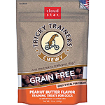 CLOUDSTAR DOG TRICKY TRAINER GRAIN FREE CHEWY PEANUT BUTTER 12OZ