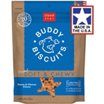 Cloud Star Original Soft & Chewy Buddy Biscuits with Bacon & Cheese Dog Treats, 20-oz. bag