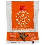 Cloud Star Original Soft & Chewy Buddy Biscuits with Peanut Butter Dog Treats, 20-oz. bag