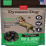 Cloud Star Dynamo Dog Tummy Soft Chews Pumpkin & Ginger Formula Dog Treats, 5-oz. bag