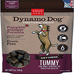 Cloud Star Dynamo Dog Tummy Soft Chews Pumpkin & Ginger Formula Dog Treats, 14-oz. bag