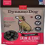 Cloud Star Dynamo Dog Skin & Coat Soft Chews Salmon Formula Dog Treats, 14-oz. bag