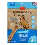 Cloud Star Dynamo Dog Breath Dental Bones Adult Dog Treats, Small, 8 count