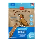 Cloud Star Dynamo Dog Breath Dental Bones Adult Dog Treats, Medium, 8 count