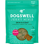 Dogswell Jerky Skin & Coat Mini Grain-Free Salmon 4oz