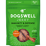 Dogswell Dog Immune Defense Jerky Grain Free Turkey 10Oz