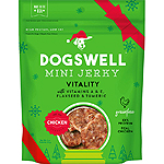 DOGSWELL DOG HOLIDAY JERKY CHICKEN 4OZ