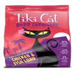 Tiki Pets Cat Carnivore  Luau Chicken Fish 2.8 Lbs