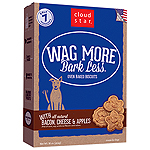 WAGMORE DOG OVEN BAKED BACON CHEESE & APPLE 20LB