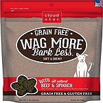 CLOUDSTAR WAGMORE DOG GRAIN FREE SOFT & CHEWY CHEDDAR 5OZ