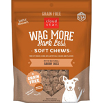 CLOUDSTAR WAGMORE DOG GRAIN FREE SOFT & CHEWY PEANUT BUTTER & APPLE 5OZ