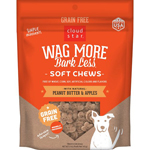 CLOUDSTAR WAGMORE DOG SOFT & CHEWY BEEF 6OZ
