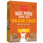 CLOUDSTAR WAGMORE DOG OVEN BAKED GRAIN FREE PEANUT BUTTER & APPLE 19LB