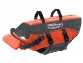 Outward Hound Outward Hound Ripstop Dog Life Jacket Life Preserver for Dogs, Medium, Orange