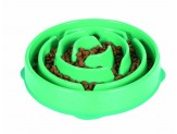 Outward Hound Outward Hound Fun Feeder Dog Bowl Slow Feeder Stop Bloat for Dogs, Large, Blue
