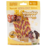 Wonder SnaXX Twists Cheese & Bacon 6ct