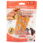 Wonder Snaxx Twists Sweet Potato & Turkey 6Ct