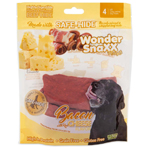 Wonder Snaxx Pockets Bacon With Real Cheese Large 4Ct