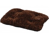 Petmate Snoozzy Plush Mat Brown Small
