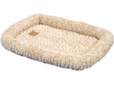 Petmate Plush Bolster Kennel Mat Tan X-Large