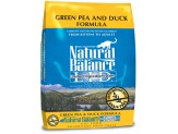 Natural Balance L.I.D. Green Pea & Duck Formula Dry Cat Food 10lb