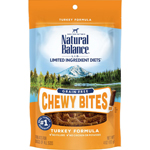 Natural Balance LID Grain Free Chewy Bites! Turkey 4oz