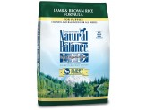 Natural Balance LID Lamb & Brown Rice Puppy Formula Dry Dog Food 12lb