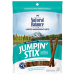 Natural Balance LIT Hip-Stix Chicken Formula Semi-Moist Dog Treat 5oz