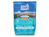 Natural Balance Ultra WBH Chicken, Duck, Salmon Kitten Dry Cat Food 6lb