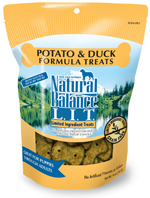 Natural Balance L.I.T. Limited Ingredient Treats Duck & Potato 14oz