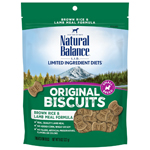 Natural Balance L.I.T. Limited Ingredient Treats Brown Rice & Lamb Meal 8oz