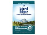 Natural Balance LID Chicken Formula Dry Dog Food 12lb