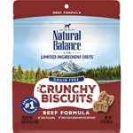 Natural Balance LID Grain Free Crunchy Biscuits Beef 10oz
