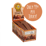 "Happy Howie Dog Beef Jerky  6"" 80CT"