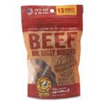 "Happy Howie Dog Beef Burger Bakers Dozen 2"" 4OZ"