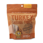 "Happy Howie Dog Turkey Sausage Bakers Dozen 4"" 8OZ"