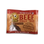"Happy Howie Dog Beef Burger 4"" 18 Pack"