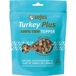 Sojos Dog Freeze-Dried Turkey Topper 4Oz
