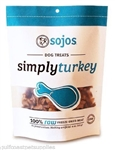 Sojos Dog Simply Turkey Treat 4 oz.