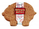 Natures Animals Barnyard Buddies Pig Shaped Bacon And Cheese Biscuit 18Pc