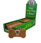 Natures Animals Gourmet Select Organic Bone Peanut Butter 4In 2-24Pc Boxes