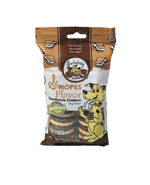 Exclusively Pet Sandwich Cremes Smores Flavor Dog Treats 8oz