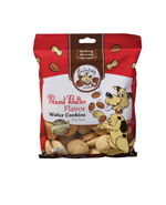 Exclusively Pet Wafer Cookies Peanut Butter Flavor Dog Treats 8oz