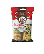 Exclusively Pet Sandwich Cremes Peanut Butter Dog Treats 8oz