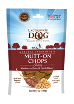 EXCLUSIVE TREAT GRAIN /FREE MUTT-ON CHOPS 8OZ