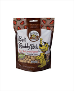 Exclusively Pet Best Buddy Bits Beef and Liver Flavor Dog Treats 5.5oz